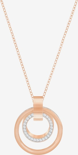 Swarovski Necklace 'Hollow' in Rose gold / Silver, Item view