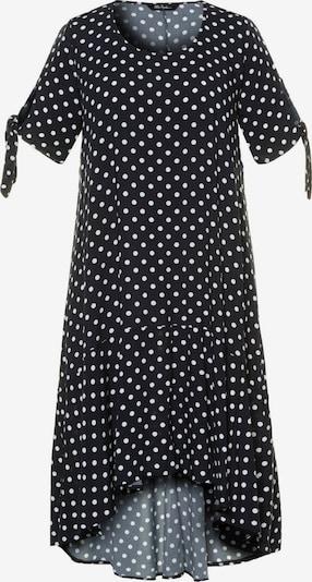 Rochie de plaja Ulla Popken pe negru / alb, Vizualizare produs