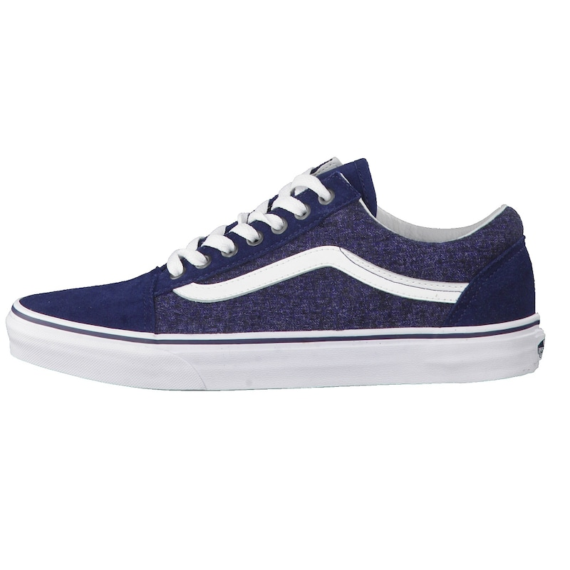 VANS Sneaker Old Skool Suede & Suiting im Retro-Look