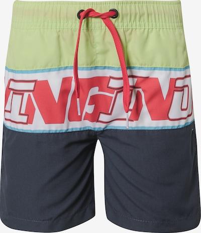 VINGINO Badeshorts 'Xeite' in nachtblau / rot / weiß, Produktansicht