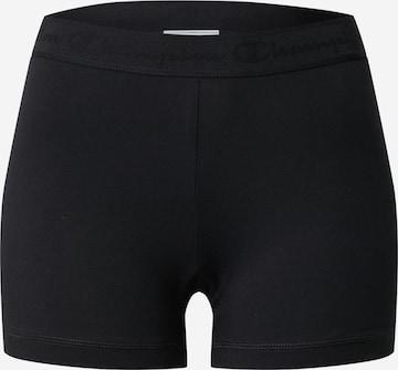 Champion Authentic Athletic Apparel Spodnie sportowe w kolorze czarny