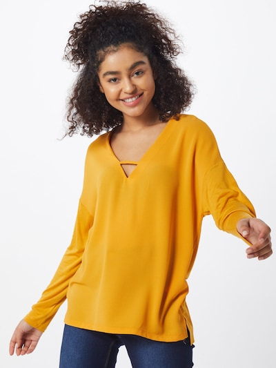 ABOUT YOU Blouse 'Elenie' in de kleur Geel, Modelweergave