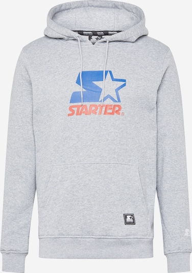 Megztinis be užsegimo iš Starter Black Label , spalva - dangaus žydra / margai pilka / koralų splava, Prekių apžvalga