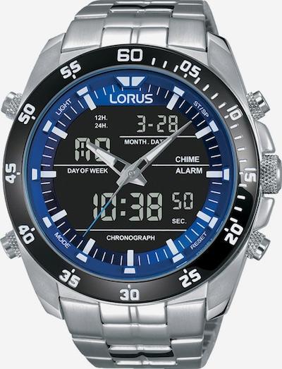 LORUS Uhr 'RW629AX9' in himmelblau / schwarz / silber, Produktansicht