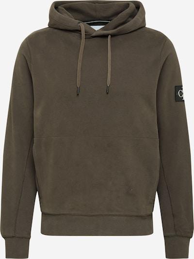 Calvin Klein Jeans Sweat-shirt en marron, Vue avec produit