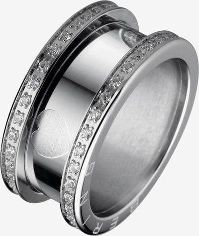 BERING Ring in silber / transparent, Produktansicht