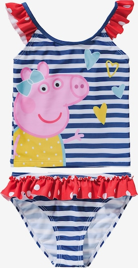 Peppa Pig Tankini in blau / mischfarben, Produktansicht