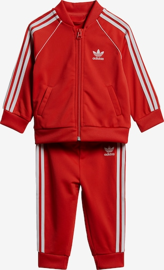 ADIDAS ORIGINALS Set in de kleur Rood / Wit, Productweergave