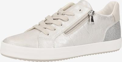 GEOX Sneaker in silbergrau / silber, Produktansicht