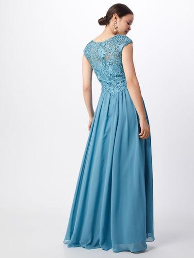 Vakarinė suknelė iš LUXUAR , spalva - benzino spalva: Vaizdas iš galinės pusės