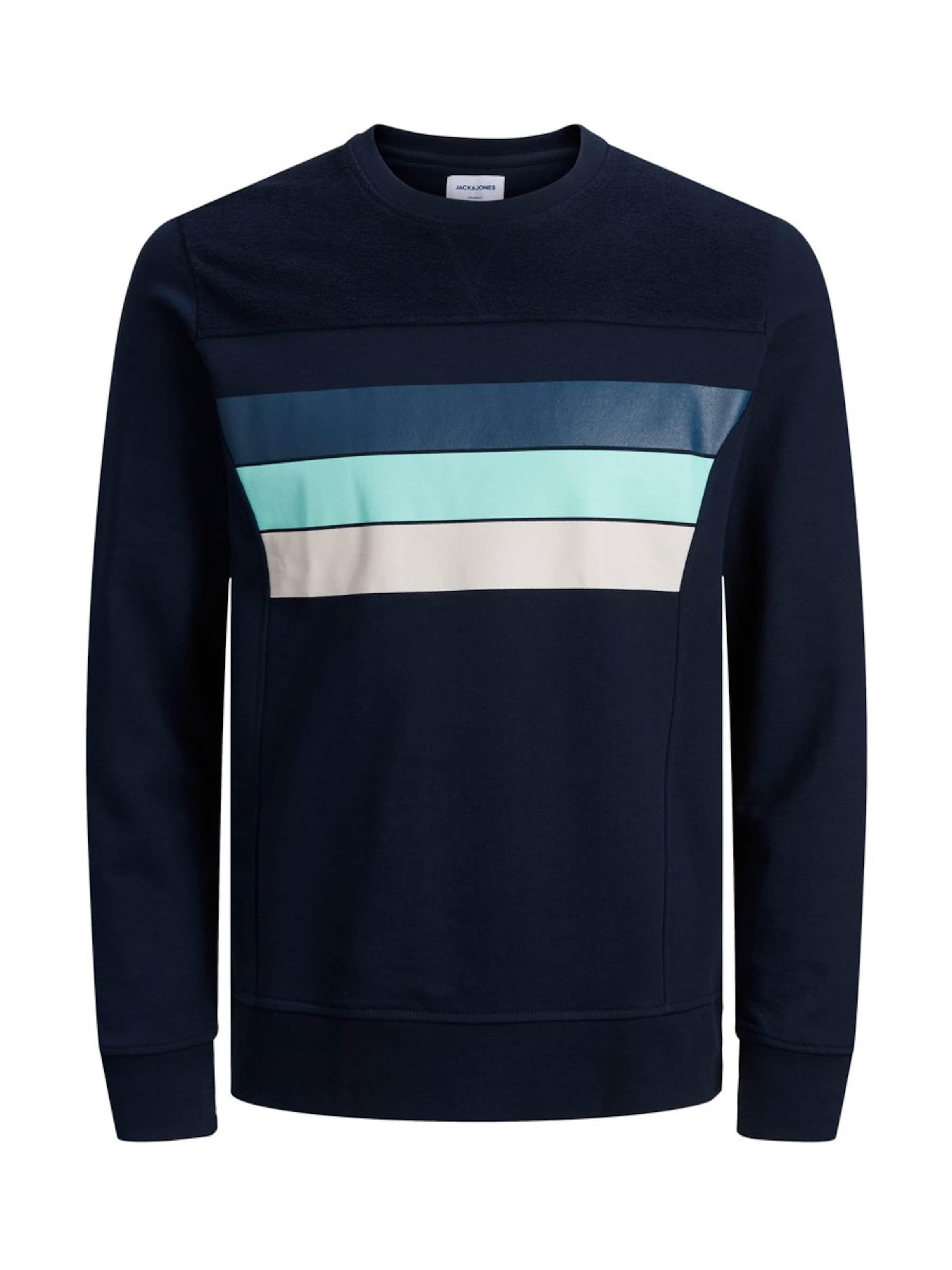 NudeBleu En Jones Sweat shirt Cobalt Jackamp; Aqua Denim UMVzqpSG