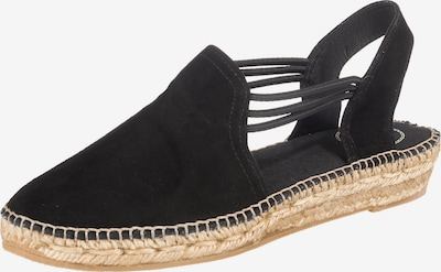 Toni Pons Sandalen 'Nuria' in schwarz, Produktansicht