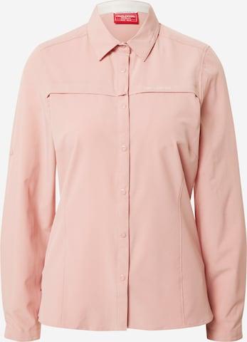 CRAGHOPPERS Funktsionaalne pluus, värv roosa