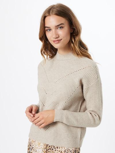 VILA Pullover in beige: Frontalansicht
