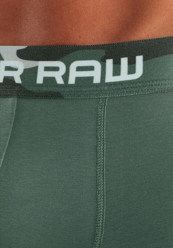 G-STAR RAW Boxer mit Camouflagebund