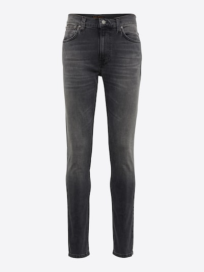 Nudie Jeans Co Jeans 'Lean Dean' in grey denim: Frontalansicht