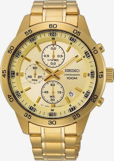 SEIKO Chronograph 'SKS646P1' in gold, Produktansicht