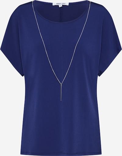ABOUT YOU T-shirt 'Mandy' en bleu marine: Vue de face