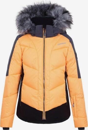 ICEPEAK Skijacke 'Leal' in grau / apricot / schwarz, Produktansicht