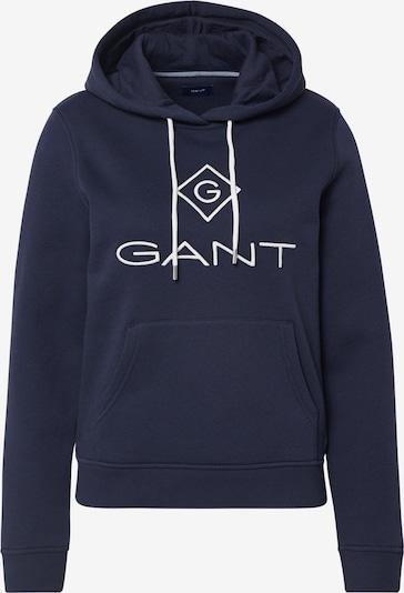 GANT Sweatshirt 'D1. GANT LOCK UP ' in de kleur Donkerblauw / Wit, Productweergave