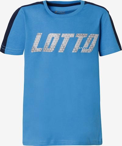 LOTTO Funktionsshirt LOGO in blau, Produktansicht