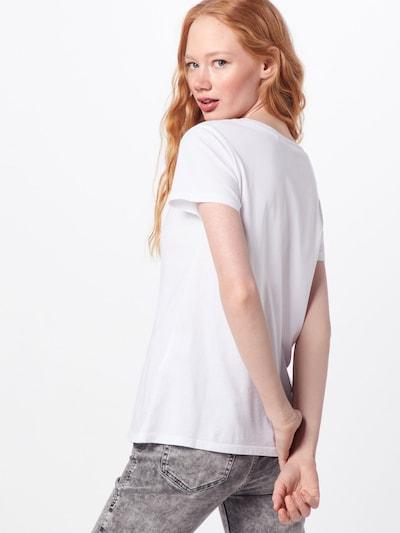 LEVI'S T-Krekls pieejami balts: Aizmugures skats