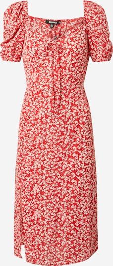 Missguided Robe d'été en rouge / blanc, Vue avec produit