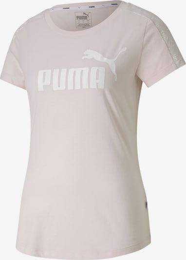 PUMA T-Shirt in altrosa / weiß, Produktansicht