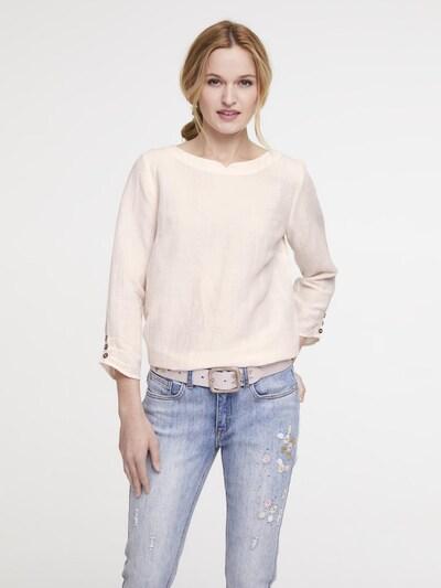 heine Bluse in creme, Modelansicht