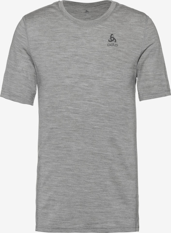 ODLO Funktionsshirt 'Merino Warm' in Grau