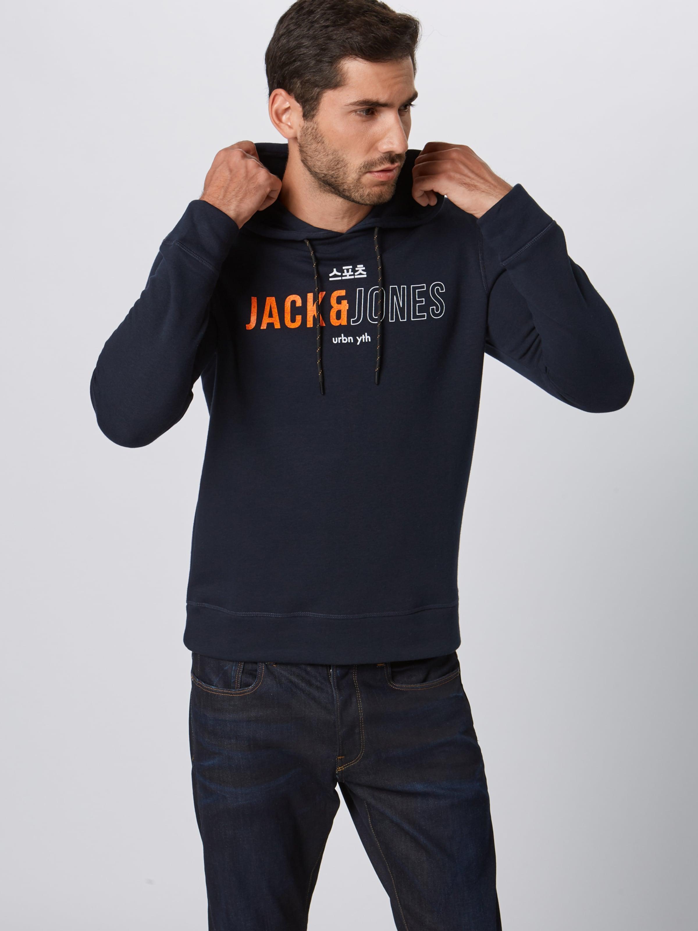 En Sweat shirt Foncé Bleu Jackamp; Jones F3lK1JTc