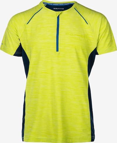 ENDURANCE Funktionsshirt 'Danny' in enzian / gelb, Produktansicht