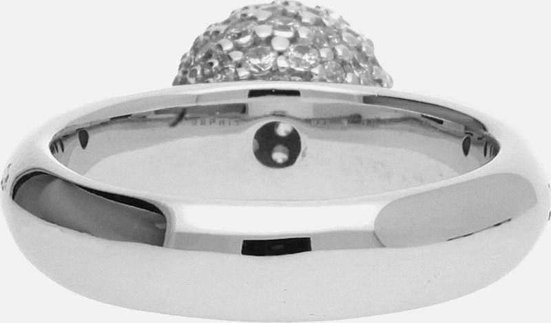 ESPRIT Damen Fingerring 925 Silber Silber Glam Sphere ESRG92309A