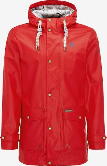 Schmuddelwedda Tussenjas in de kleur Rood, Productweergave