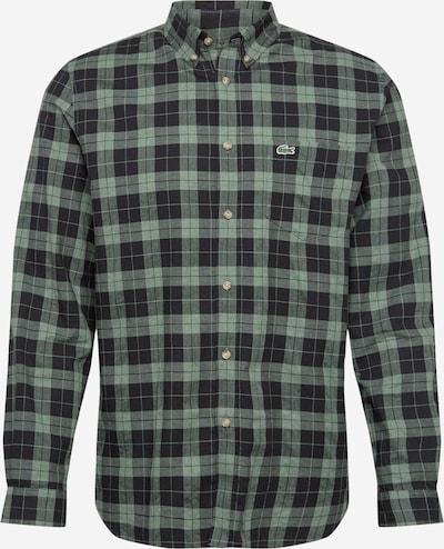 LACOSTE Krekls zaļš / melns, Preces skats