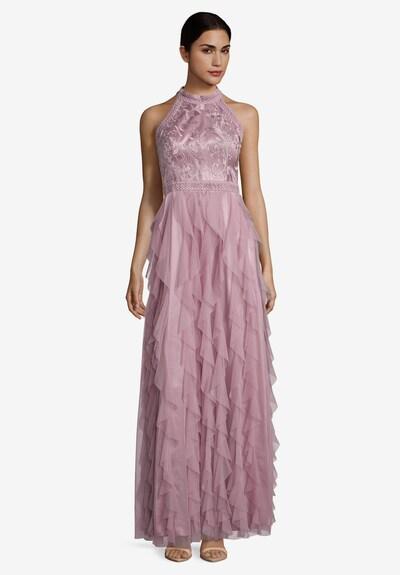 Vera Mont Abendkleid mit Volant in beige, Modelansicht