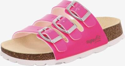 SUPERFIT Pantoletten in pink, Produktansicht