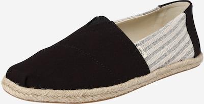 TOMS Slipper 'ALPARGATA' in beige / schwarz, Produktansicht