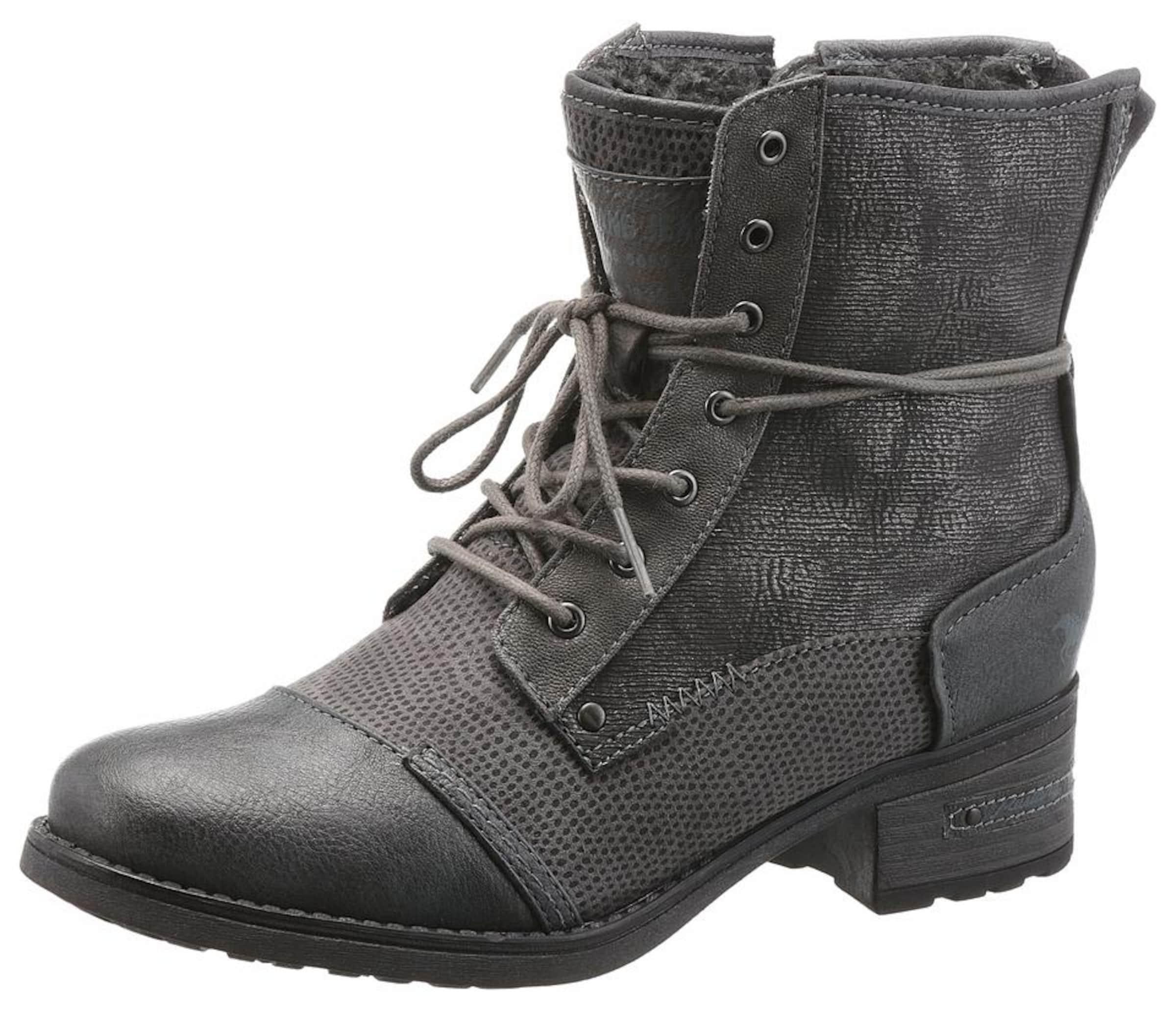 Haltbare Mode billige Schuhe MUSTANG   Shoes Schnürboots Schuhe Gut getragene Schuhe