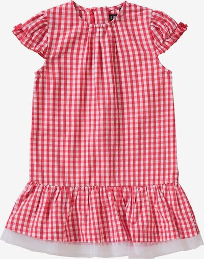 BLUE SEVEN Kleid in rot / weiß: Frontalansicht