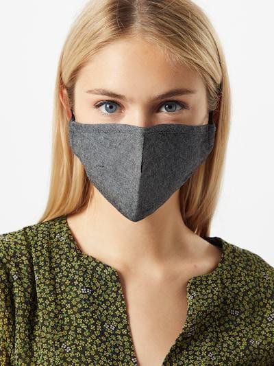 OPUS Maska z materiału w kolorze czarnym: Widok z przodu
