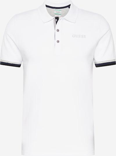 GUESS Poloshirt 'Clancy' in schwarz / weiß, Produktansicht
