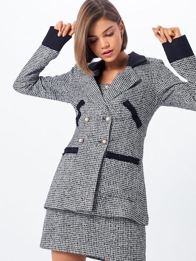 Fashion Union Blazer 'ARLIE' in schwarz / weiß, Modelansicht