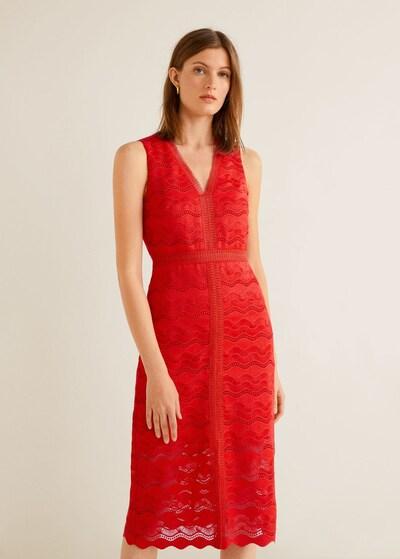 MANGO Kleid 'Saray 4' in rot, Modelansicht