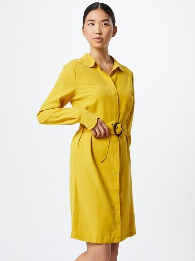 Another Label Šaty 'Peri dress l/s' - žlutá: Pohled zepředu
