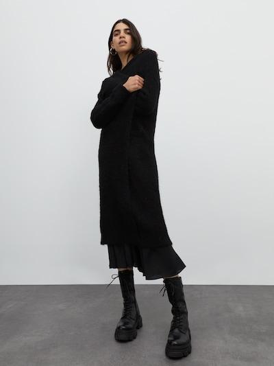 EDITED Cardigan 'Caesar' in schwarz, Modelansicht