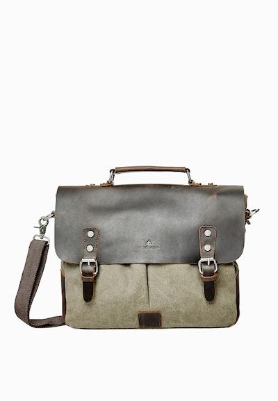 DREIMASTER Tasche in schoko / khaki, Produktansicht