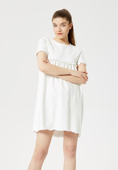 TALENCE Kleid in weiß, Modelansicht