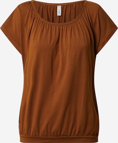 Soyaconcept T-shirt 'MARICA' en caramel: Vue de face