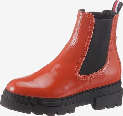 TOMMY HILFIGER Chelsea boots in de kleur Sinaasappel / Zwart, Productweergave